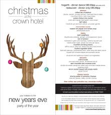 New Years Eve Traditions Christmas Breaks At The Crown Hotel Bawtry Doncaster