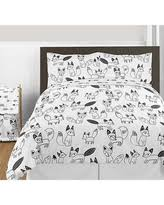 Black And White Comforter Full Amazing Deals On Black And White Comforters