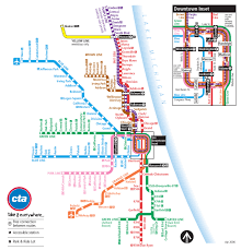 Chicago Map Pdf Behind The Scenes Evolution Of The Chicago Cta Transit Maps
