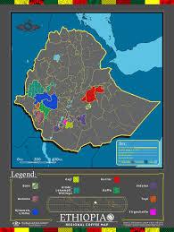 Map Of Ethiopia Cafe Imports Ethiopia