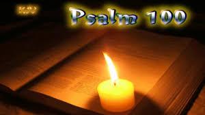 scriptures on thanksgiving kjv 19 psalm 100 holy bible kjv youtube