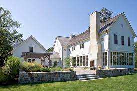 Farmhouse Exterior House In Darien Farmhouse Exterior New York By Beinfield