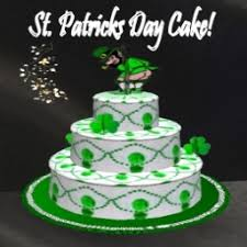 second life marketplace st patricks day cake