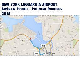 Atlanta International Airport Map New York Laguardia International Airport Improvement Update