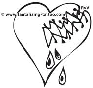 heart tattoo history and popular designs