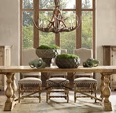 dining room restoration hardware tables trestle table 22868poster