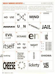 wackie wordies 68 wacky words brain teasers