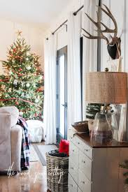 our christmas home tour part one the wood grain cottage