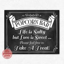 popcorn sayings for wedding popcorn bar saying wedding stuff popcorn bar