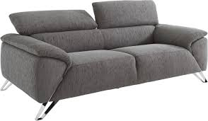canap tissus canap 2 places gris amazing canape places relax cuir canape