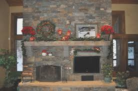 fireplace new fireplace mantel christmas decorations design