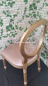 French Style Patio Furniture by Classic French Style Round Back Tufted White Event Wedding Chairs
