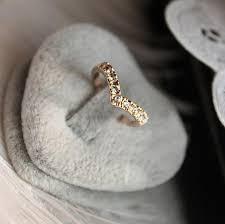 fashion jewelry unique design concise simple style rhinestone