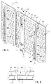 patent ep0730699b1 modular concrete form system and method for