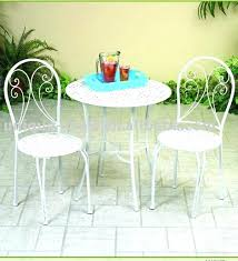 Soleil Patio Furniture Cream Metal Garden Bistro Sets Outdoor Bistro Table Sets Uk Metal