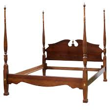 kincaid four post king size rice bed chairish