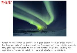 why northern lights happen when does the aurora happen the heart of life