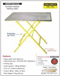 Folding Welding Table Welding Tables U2014 Welspring Universal
