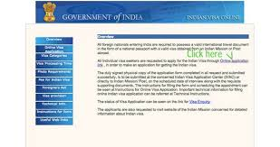 step by step how to apply for indian tourist visa from usa
