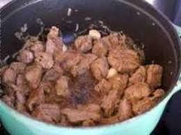 cuisiner le collier de veau veau marengo recette de veau marengo recette par chef simon