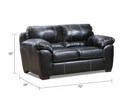 Loveseat Couch Black Fabric Couch Set Yahtzee Onyx Sofa And Loveseat American