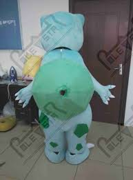 Bulbasaur Halloween Costume Cartoon Bulbasaur Mascot Costumes Quality Monster Costumes