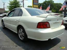 white mitsubishi endeavor 2001 mitsubishi galant gtz in dover white pearl photo 3 186950