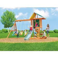 springfield wood gym set toys