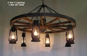 Lantern Chandelier Lighting Ww026 Rustic Wagon Wheel Chandelier Light Fixture With Hanging