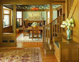 craftsman style home interiors craftsman style home decor dining room craftsman with blinds