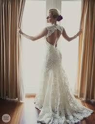 wedding dress open back lace wedding dress open back say yes dress b lace wedding dress