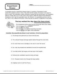 add a prepositional phrase sentence structure worksheets