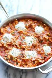 easy cuisine recipes easy one pot lasagna damn delicious
