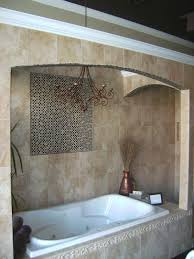 bathtub shower combo install with contemporary soaking corner tub