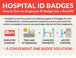 How To Make Employee Id Cards - turn a hospital employee id badge into a one badge solution