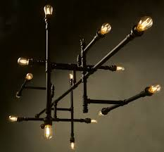 Steunk Light Fixtures Edison Steunk Luminaires Works On Energy Efficient Led Technology