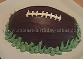football cakes the fabulous football cake sacchef s