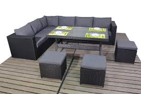 Rattan Table L Sale On Santorini Table Corner Right Furniture World