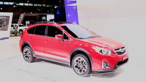 red subaru crosstrek 2016 subaru crosstrek special edition 2016 chicago auto show