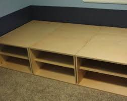How To Make A Twin Platform Bed Frame by