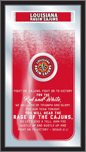louisiana lafayette ragin u0027 cajuns fight song mirror fight song