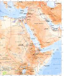 Physical Maps Nile River Clipart Physical Map Pencil And In Color Nile River