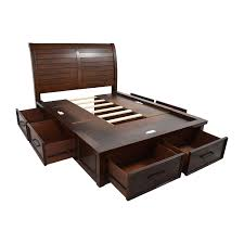 platform bed with headboard queen bedrooms queen platform bed with