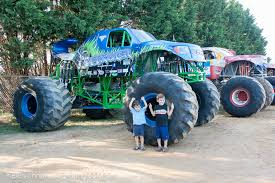 monster trucks show 2014 north potomac maryland family photographer