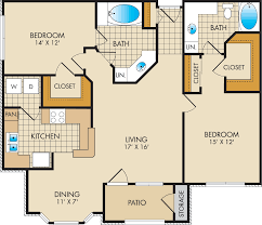 floor plans the park at westcreek luxury apartments f 1 185 sq ft