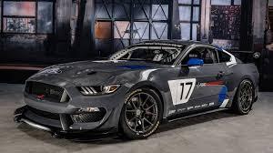 badass mustang ford reveals badass mustang gt4 race car at sema the drive