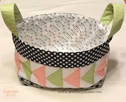Baby Storage Baskets Making Fabric Storage Baskets Sew Much Moore