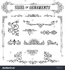 royalty free vector vintage ornament set easy to 89689000 stock