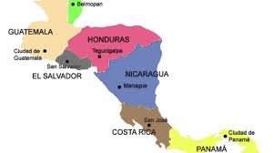 Middle America Map Quiz by Central America Song Youtube