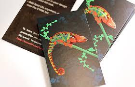 cmyk foil cards